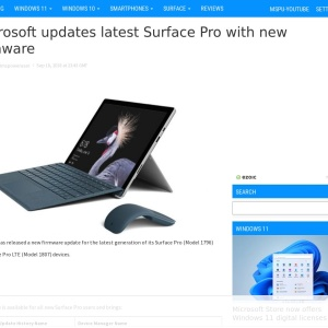 Microsoft updates latest Surface Pro with new firmware - MSPoweruser