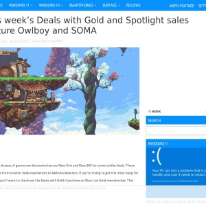 This week's Deals with Gold and Spotlight sales feature Owlboy and SOMA - MSPoweruser