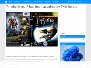 TimeSplitters IP has been acquired by THQ Nordic - MSPoweruser