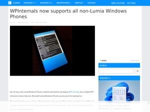 WPInternals now supports all non-Lumia Windows Phones - MSPoweruser