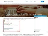 Microsoft office error code 30016-26- Live Assist Support
