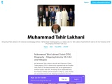 Muhammad Tahir Lakhani Shipping – Dubai Trading Agency in Dubai