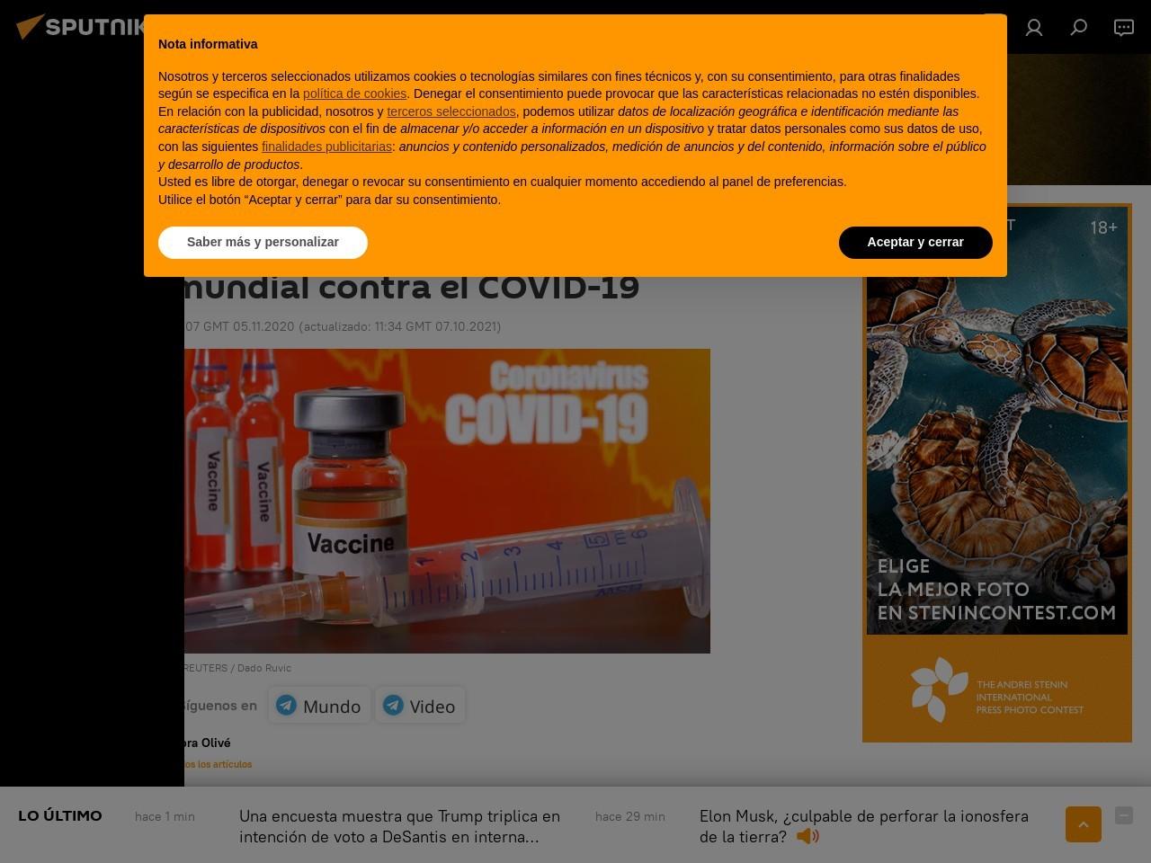 RUTI: la primera vacuna española que salta a la lucha mundial contra el COVID-19
