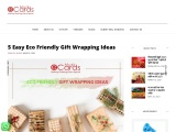 5 Easy Eco Friendly Gift Wrapping Ideas