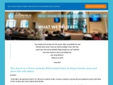 WHAT WE BELIEVE – MISSION VIEJO