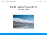 Top 10 Exciting Things to do in Leh Ladakh