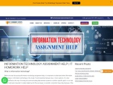 Information Technology Assignment Help by Top IT Assignment Experts