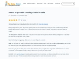Get 7 best gaming chair India at Low Price