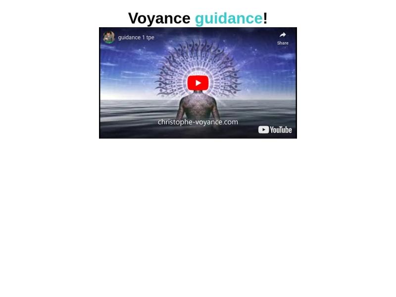 voyance guidance