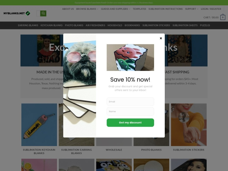 MyBlanks screenshot