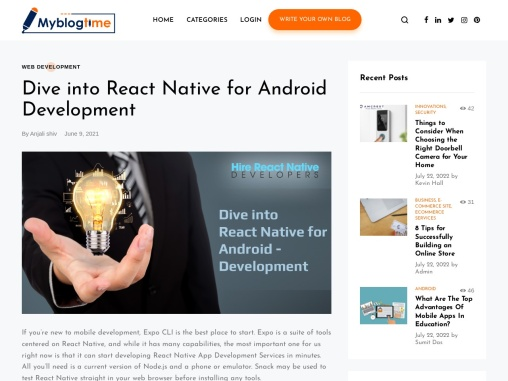 Dive into React Native for Android Development