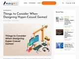 Things to Consider When Designing Hyper-Casual Games!