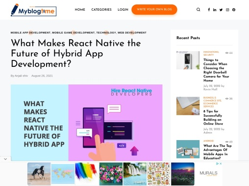 What Makes React Native the Future of Hybrid App Development?