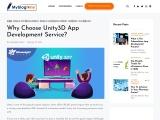 Why Choose Unity3D App Development Service?