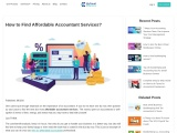 How to Find Affordable Accountant Services?