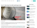 How To Take Help From IRS Audit Expert 2021