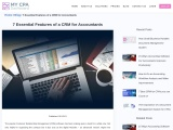 7 Essential Features of a CRM for Accountants