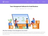 Team Management Software for Small Business