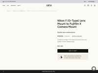 Urth Nikon F (G-type) to Fujifilm X Lens Mount Adapter – Urth (USA)