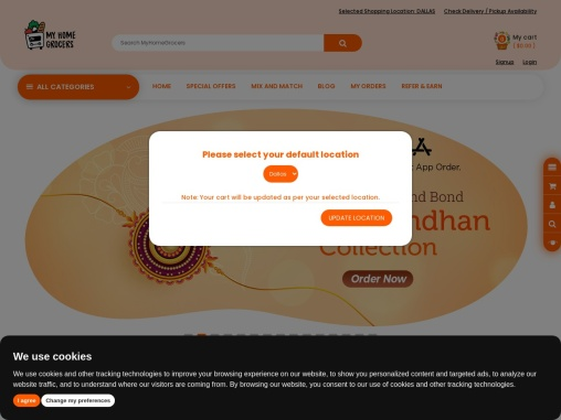 Indian Grocery Store Online Dallas