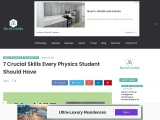 7 Crucial Skills Every Physics Student Should Have
