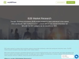 Best Marketplace for B2B Market Research Companies