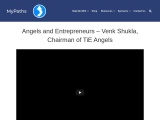ANGELS AND ENTREPRENEURS – VENK SHUKLA, CHAIRMAN OF TIE ANGELS
