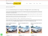 Mysore to Coorg Packages From Mysore