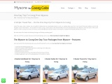 Mysore to Coorrg Day Trip By Car