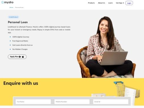 Get Instant Personal loan online