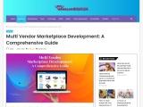 Multi Vendor Marketplace Development: A Comprehensive Guide
