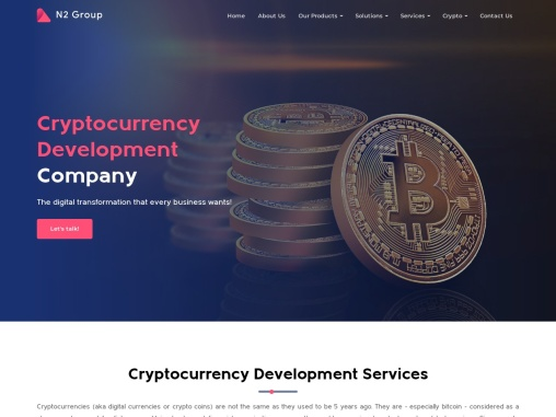 Cryptocurrency Creation Services