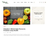 Vitamin C Rich Fruits Proven to Promote Lung Health