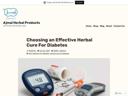 Diabetes Medications – The Best Herbal Medications for Diabetes