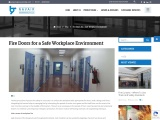 Fire Doors for a Safe Workplace Environment
