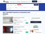 1 BHK Flats for Sale in Kalamboli, Navi Mumbai