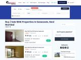 1 BHK Flats for Sale in Seawoods, Navi Mumbai