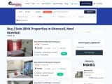 2 BHK Flats for Sale in Ghansoli, Navi Mumbai