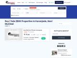 2 BHK Flats for Sale in Karanjade, Navi Mumbai