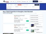Buy Flats, Properties In kharghar
