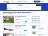 Properties, Flats For Rent In kharghar