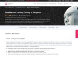 Top Machine Learning Training in Bangalore