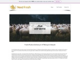 Fresh Sheep Mutton Delivery in Al Warqa