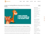 Guide to Creating Effective Characters for Children's Books – Nelibeth Plaza