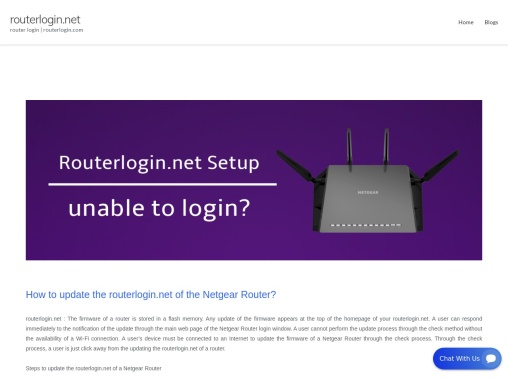 routerlogin.net – how to routerlogin.net not working ?