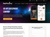 Hire iOs App Development Company in Europe | NetMaxims Tech | Mobile App Development Company