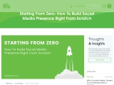 Starting From Zero: How To Build Social Media Presence Right From Scratch?