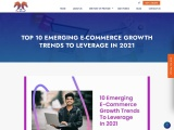 TOP 10 EMERGING E-COMMERCE GROWTH TRENDS