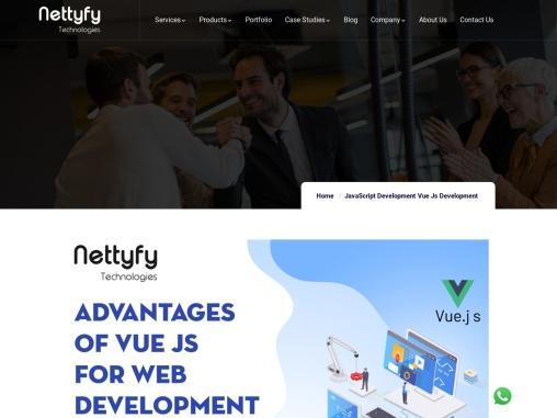 Top Advantages of Vue Js For Web Development
