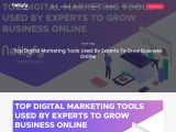 Top Digital Marketing Tools Used By Experts To Grow Business Online